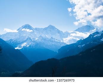 Bernese Alps - Eiger, Mönch, Jungfrau
