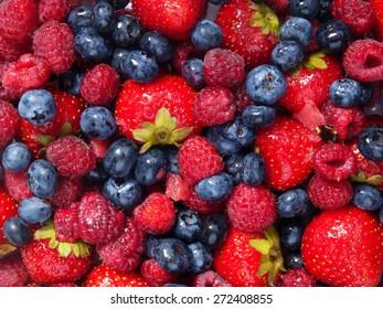 Berries, close up