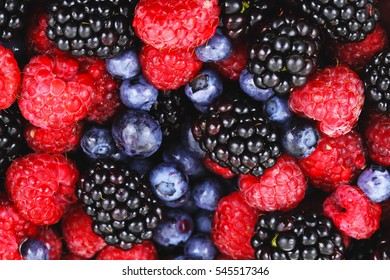 Berries mix fruit color food dessert sweet photo stock