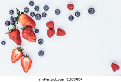 Berries: strawberries, blueberries, raspberries