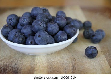 berry blue in plate