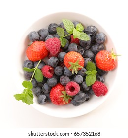 berry fruit isolated on white