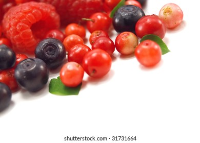 berry isolated on white background