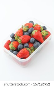 Berry mix healthy lunch box