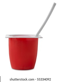 Berry yogurt pot