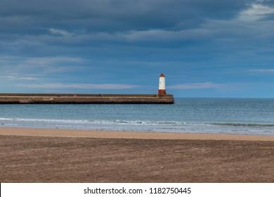 Berwick harbour lighthouse