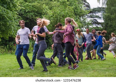 Berzes strazdi Ligo festival. Catthorpe Manor Estate, Lilbourne Lane, Catthorpe. United Kingdom 15/06/2018
