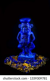 bes statue, the god of fertility in ancient egypt