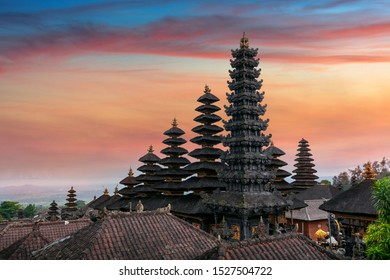 Besakih temple in Bali, Indonesia.