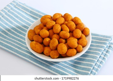 Besan coated peanuts Recipe, Indian Snack