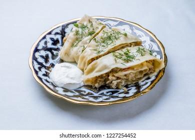 Beshbarmak, Uzbek kitchen