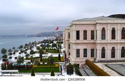 Besiktas, Istanbul, Turkey. Four Seasons Hotel Cıragan.