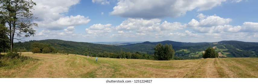 Beskidy mountains in Poland