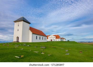 Bessastadir - president's residence at Reykjavik