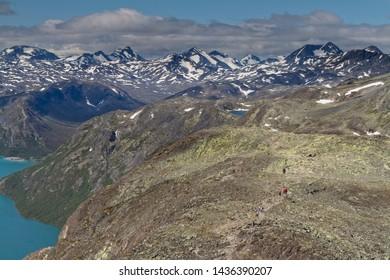 Bessegen hike in Oppland Norway