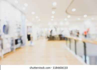 Best abstract blur shopping mall and retail store interior for background