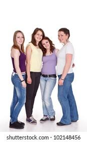 Best fiends - four teenage girls