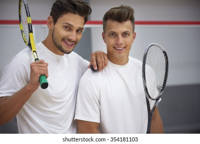 Best friend in life and best partner on court