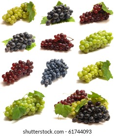 The best grades of grapes