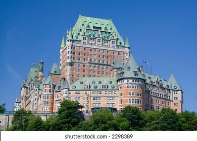 The best known building in Quebec city.