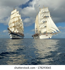 Best sailing cruises.  series of the most beautiful sailing ships of the world