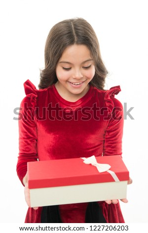 Best toys and christmas gifts for kids. Kid little girl in elegant dress curly hairstyle  sc 1 st  Shutterstock & Best Toys Christmas Gifts Kids Kid Stock Photo (Edit Now) 1227206203 ...