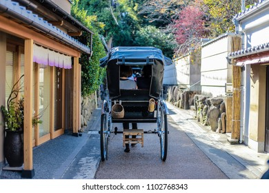 ?Rickshaw is the best transportation to explore the beautiful alley in Arashiyama, kyoto.