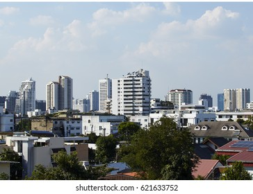 The best view of Bangkok Skyline,building in bangkok