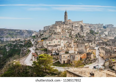 best view of the Matera skyline, panorama of Matera, Matera capital of culture