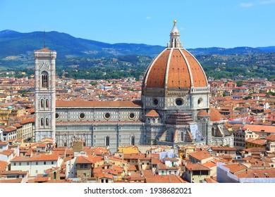 The best view of Santa Maria del Fiore. Italy