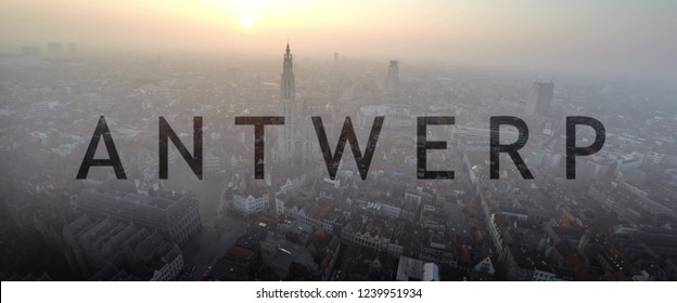 best views in Antwerp  , Antwerp is a port city on Belgium's River Scheldt, with history dating to the Middle Ages. In its center,