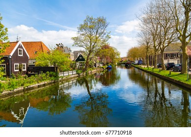 Best views of Edam and Volendam. Netherlands. Holland