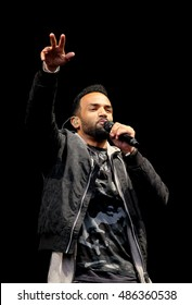 Bestival  - September 10th 2016: British DJ Craig David  presents TS5  performing live on the main stage at Bestival, Newport, Isle of Wight, September 10, 2016 on Isle of Wight, UK
