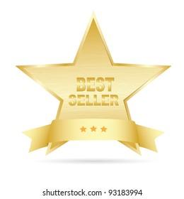 Bestseller gold label