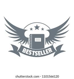Bestseller logo. Vintage illustration of bestseller logo for web