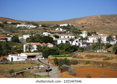 BETANCURIA, SPAIN - CIRCA FEBRUARY 2019 View from the hill