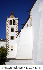 BETANCURIA, SPAIN - CIRCA FEBRUARY 2019 Old church Iglesia de Santa Maria Betancuria