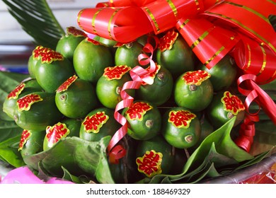 Betel and areca for Vietnamese traditional wedding