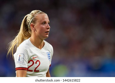 Beth Mead (Arsenal WFC) of England during the 2019 FIFA Women's World Cup France Semi Final match between England and USA at Stade de Lyon on July 2, 2019 in Lyon, France.