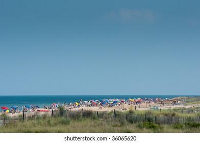 Bethany Beach Delaware, very crowded Delaware shore