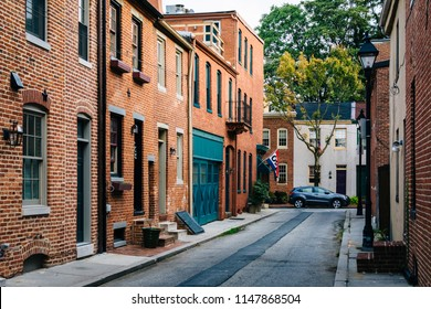 Bethel Street in Fells Point, Baltimore, Maryland
