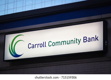 Bethesda, MD - September 13, 2017: The Carroll Community Bank.