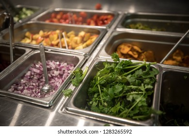 Bethesda, MD / USA - January 12, 2019: The salad chain restaurant Sweet Green offers free meals to furloughed government workers affected by the shutdown.