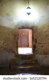 Bethlehem, Palestine; November 6, 2013; Church of Nativity, side door near the Humility Door in the entrance to the church