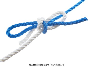 Better bow knot isolated on white background