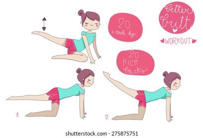 better butt illustrated workout