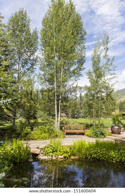 Betty Ford Meditation Garden Vail Colorado Stock Photo Edit Now