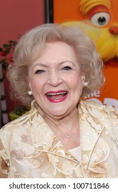 "Betty White at the ""Dr. Seuss' The Lorax"" Premiere, Universal Studios, Universal City, CA 02-19-12"