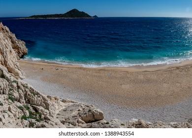 Between Kas and Kalkan Kapıtas Beach