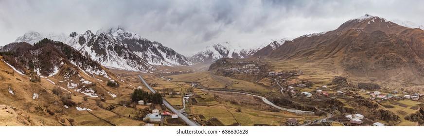 Between Kazbegi and Gudauri III